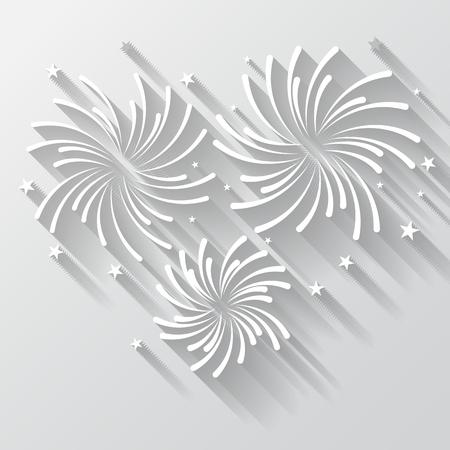фейерверк фон, может быть ЕЭС для празднования, партии, и новый год события