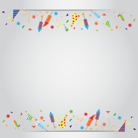 47885630 confetti and firework background can be use for celebration new year birthday christmas greeting card also design for web page