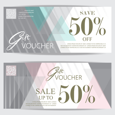 Gift Voucher Certificate Coupon Template Cute And Modern Style