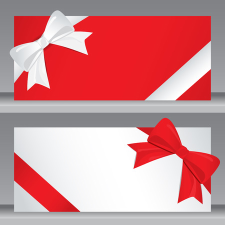 Vacanze di Natale e Capodanno dono coupon modello di certificato voucher. può essere utilizzato per biglietto da visita lo shopping, la vendita al cliente e la promozione, il layout, banner, web design. illustrazione vettoriale Archivio Fotografico - 48758242