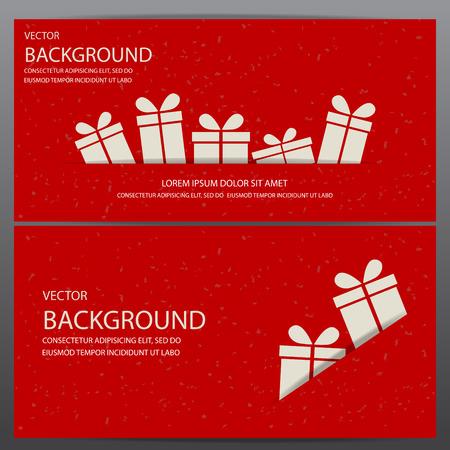Weihnachten und Neujahr Geschenk-Gutschein Coupon Zertifikat Vorlage. kann die Verwendung für Business-Shopping-Karte, Kunden Verkauf und die Förderung, Layout, Banner, Web-Design sein. Vektor-Illustration