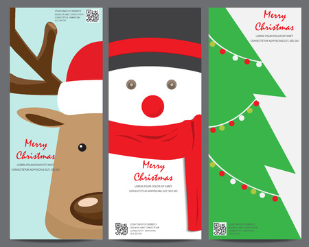 christmas invitation template card. can be use for business shopping card, customer sale and promotion, layout, banner, web design. vector illustration