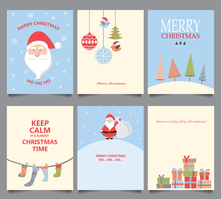 tree design: set of christmas background, poster, greeting card, cover web page design element. text can be added. vector illustration