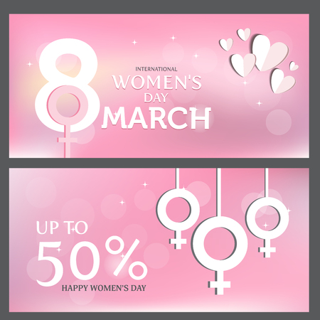 the day off: international woman day background. 8 march, use for greeting and invitation card.  poster, backdrop. flat design. vector illustration