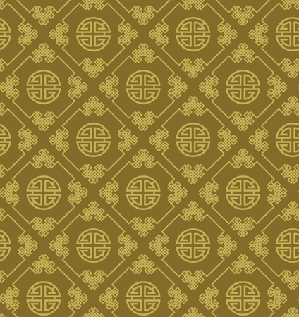 traditional pattern: Traditional chinese seamless pattern. Illustration