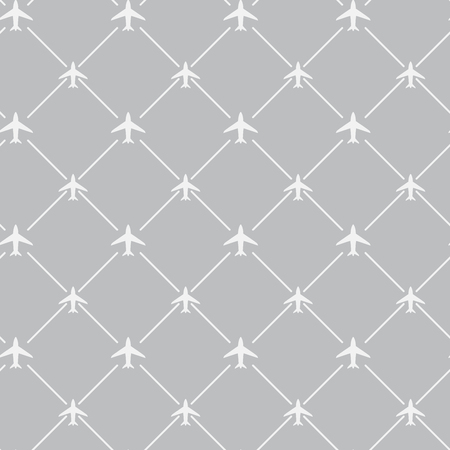 travel around the world airplane routes seamless pattern, background, vector, Endless texture can be used for wallpaper, pattern fills, web page,background,surface