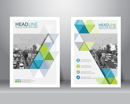brochure aziendale modello di layout di progettazione formale in formato A4. può essere utilizzato per poster, banner, elemento grafico, depliant e lo sfondo Vettoriali