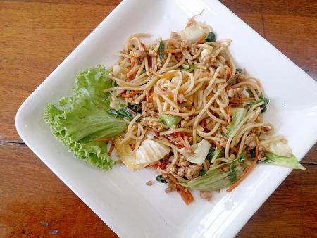 spicy: Spicy spaghetti Stock Photo