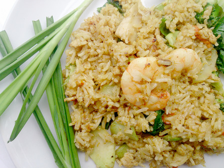 yang style: Shrimp fried rice