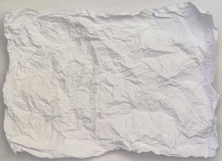 紙テクスチャ背景、しわくちゃの紙テクスチャ背景 写真素材