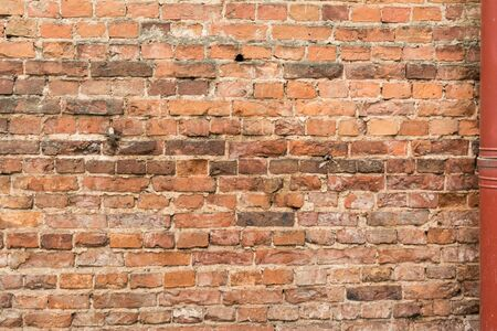 texture of the old destroyed brick wall, abstract background