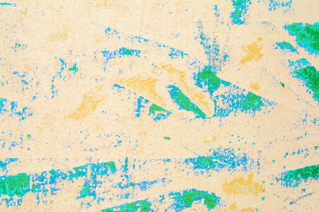 texture of an old wall of an ancient building with a ruined plaster layer, abstract background