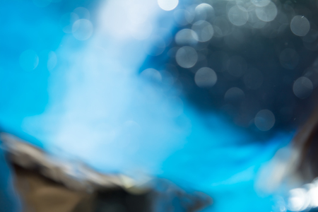 the interaction of water and oil, colorful abstract blurred background Stok Fotoğraf