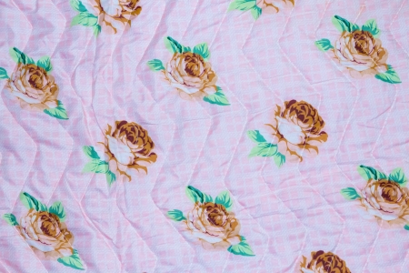 Brightly colored pink textile flower background