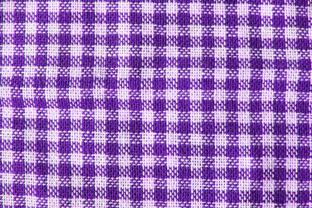 bedcover: Traditional Scottish tartan textile pattern