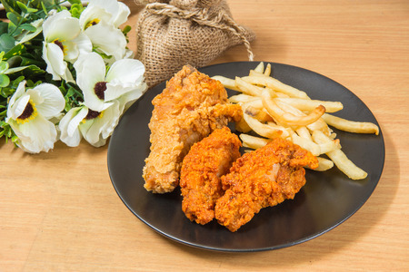 Fried Chicken for Asian food image