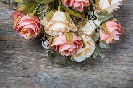 fake: fabric roses,Fake textile vintage