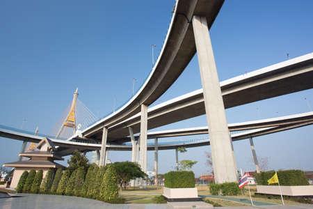 bhumibol: Bhumibol Bridge, Bangkok, Thailand