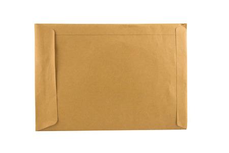 Brown Envelope close up shot
