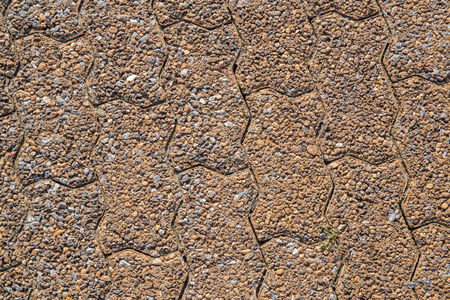 Background with a pattern and texture of cobble stones photo