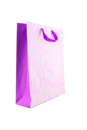shoping: shoping paper bag on white background
