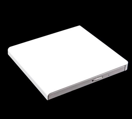 external: External DVD, CD Writer Stock Photo