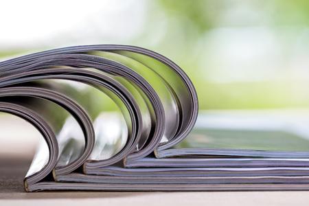 Stapel tijdschriften Stockfoto