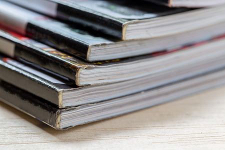 periodical: Stack of magazines
