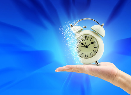 expires: Time is running up Stock Photo