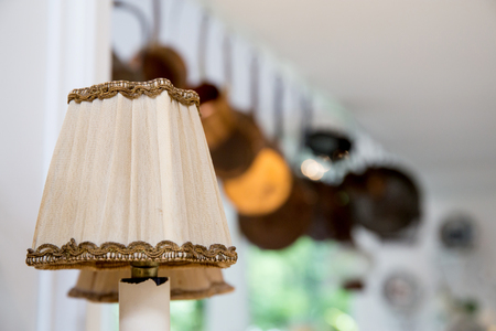 lamp decorative in home - Luxury lighting.