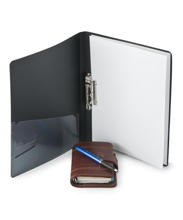 Office folder diary Stock Photo - 8774016