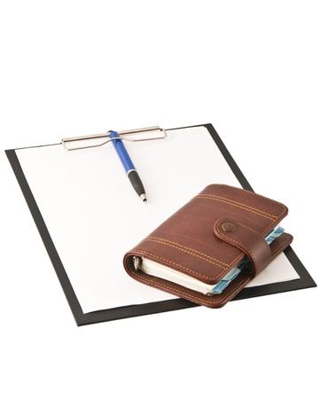 Office folder diary Stock Photo - 8774007