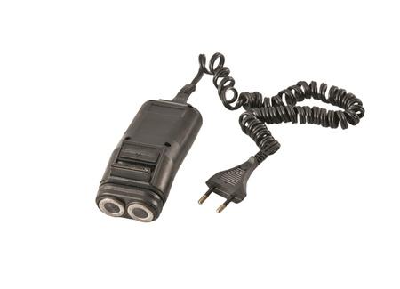 electric shaver: Rasoio elettrico Archivio Fotografico