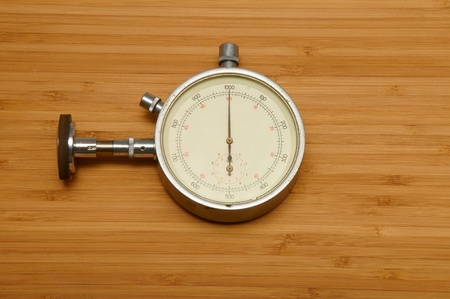 elapsed: instrument for measuring speed Stock Photo