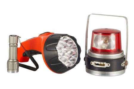 Three flashlights photo
