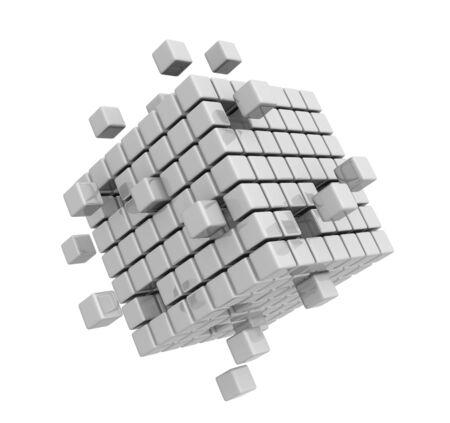 Close up of a abstract design elemet Foto de archivo