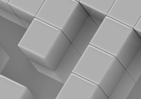 The close up of a plastic maze photo