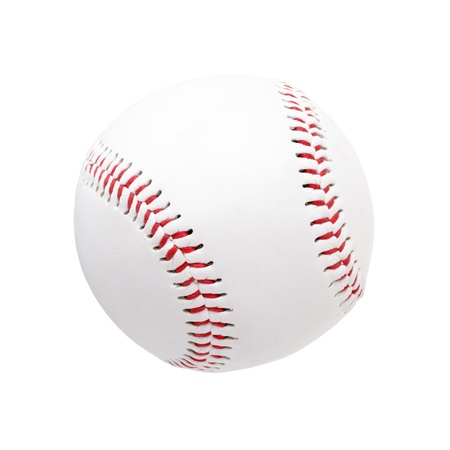 Baseball ball isolated on a white background photo