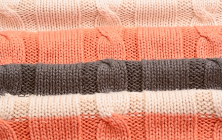 The knitted woolen background photo