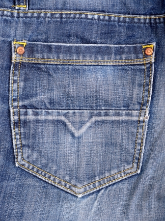 The blue denim jeans texture photo