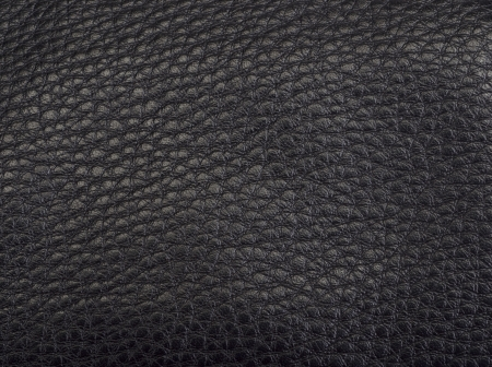 black leather texture on a background photo