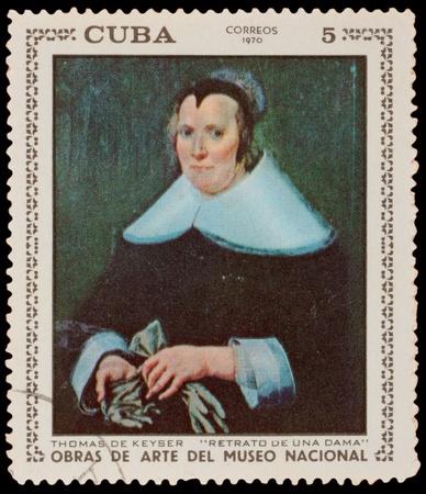 CUBA - CIRCA 1970: A stamp printed in the CUBA, shows