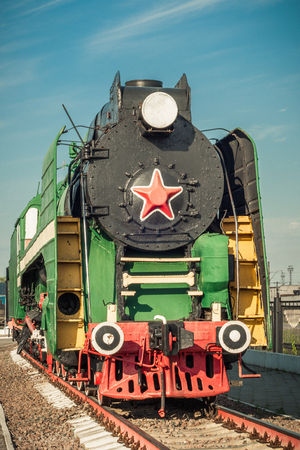 20th century: old steam locomotives of the 20th century