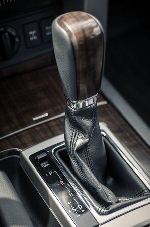automatic: automatic transmission close-up