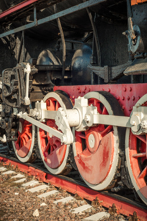 locomotives: old steam locomotives of the 20th century