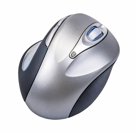 clique: computer mouse isolated on a white background