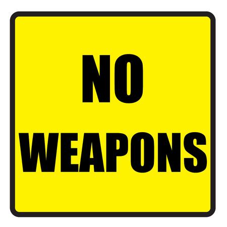 slogans: Vector illustration. Illustration shows Famous slogans. No weaponsŒ