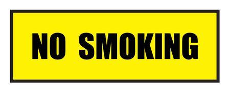 slogans: Vector illustration. Illustration shows Famous slogans. No smokingŒ