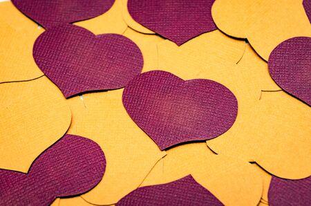 Happy Valentines Day. Hearts. Love. Celebratory background