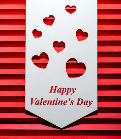 Background. Happy Valentines Day. Hearts